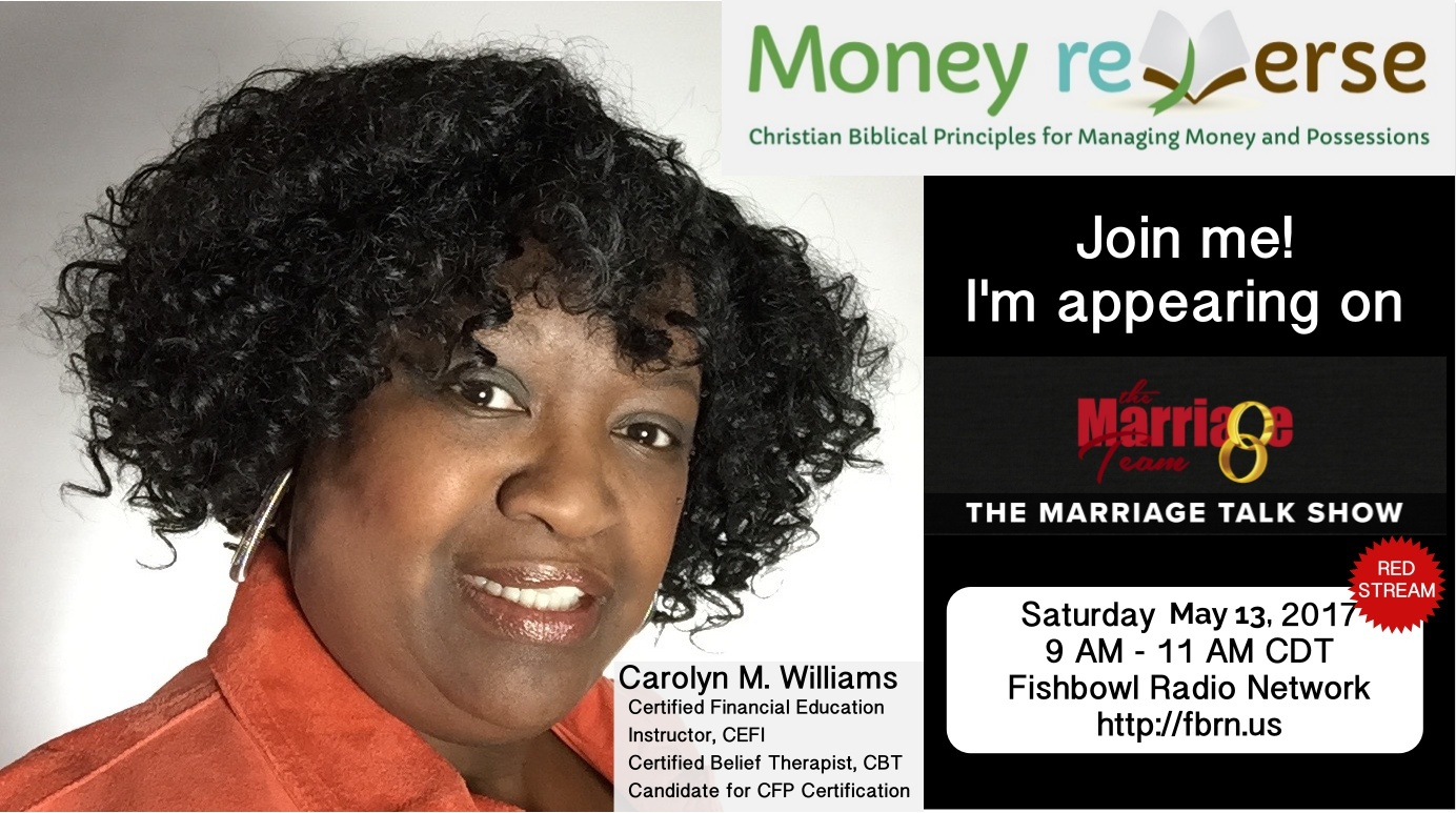Join me on The Marriage Talk Show - Retirement Saving